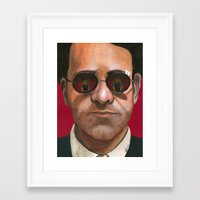daredevil Framed Art Prints featuring Daredevil by Heather Davies-Devoe