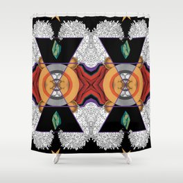 Element of Earth Shower Curtain