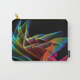 Dancing Northern Lights, Abstract Summer Sky Carry-All Pouch