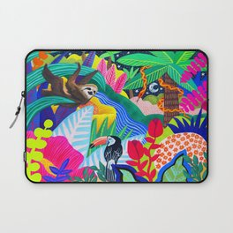 Jungle Party Animals Laptop Sleeve