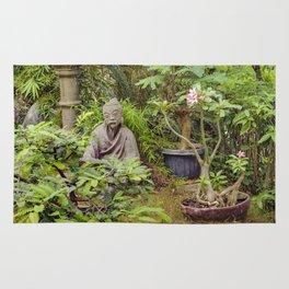 Japanese style Decoration at Guayaquil Botanical Garden Rug