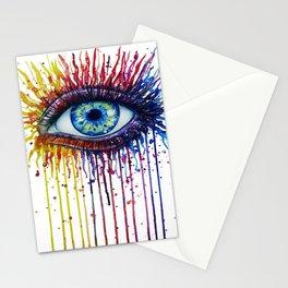 Colorful Eye Stationery Cards