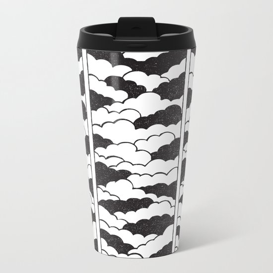 the sky is the limit Metal Travel Mug