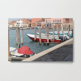 boats of murano Metal Print