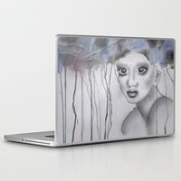 depression Laptop & iPad Skins featuring Depression II by katimarco
