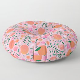 Apricots Floor Pillow