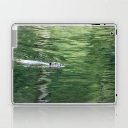 Beaver on an Evening Swim Laptop & iPad Skin