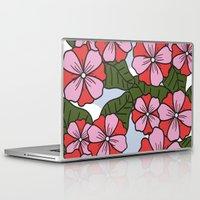 scandinavian Laptop & iPad Skins featuring Scandinavian Garden by She's That Wallflower