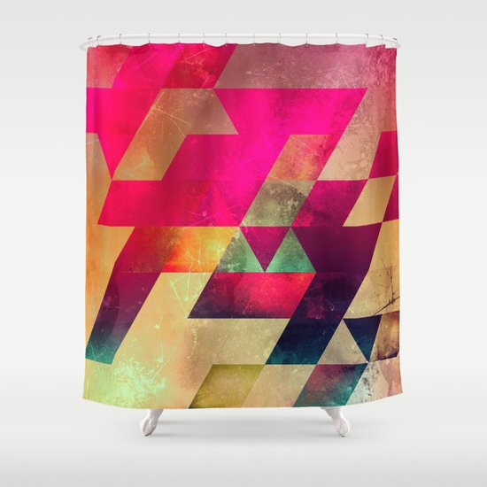 syx nyx Shower Curtain