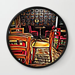 Creativity Cafe Wall Clock