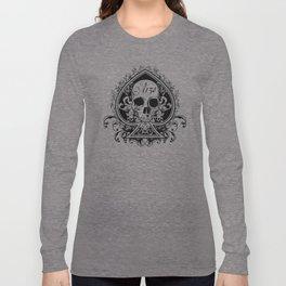 Halloween Ace of Spades Long Sleeve T-shirt