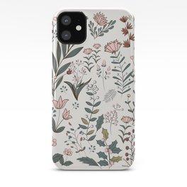 Winter Flowers II iPhone Case