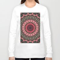 spiritual Long Sleeve T-shirts featuring Spiritual Rhythm Mandala by Elias Zacarias