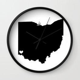 Cincinnati, Ohio, Home Wall Clock