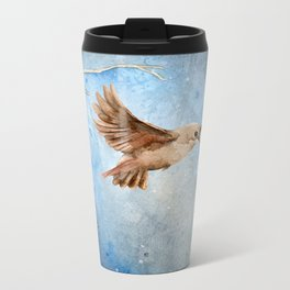 Snow Wanderer Metal Travel Mug