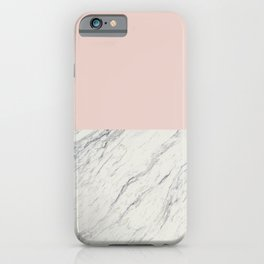 Moon Marble iPhone Case