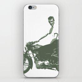 Dad on a Bike iPhone Skin