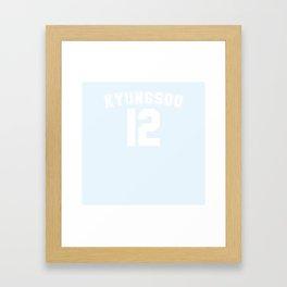 KYUNGSOO12 Framed Art Print