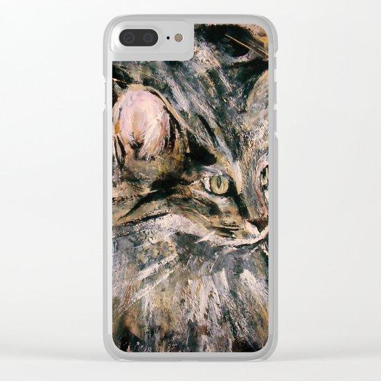 Norwegian Forest Cat Clear iPhone Case