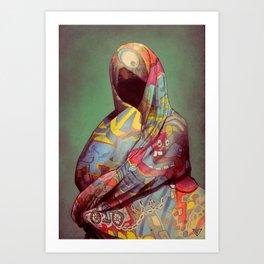 L'7ayk Art Print