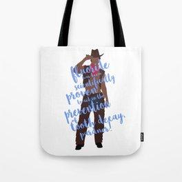 dental cowboy Tote Bag