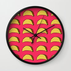 Tacos for Days Wall Clock