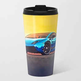 Blue Mirror Travel Mug