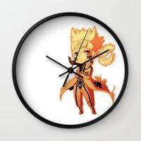 naruto Wall Clocks featuring Naruto  by WTFmoments