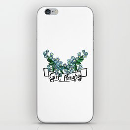 Girl Almighty iPhone Skin