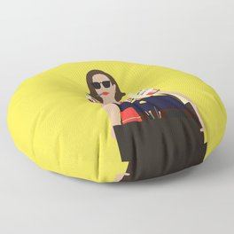 Peggy Olson Mad Men Floor Pillow