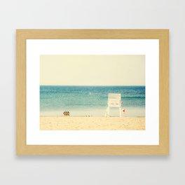 Lake Ontario Beach Framed Art Print