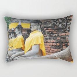 Ayutthaya Temple Rectangular Pillow