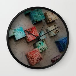 Single Ceramic Tiles Wall Clock