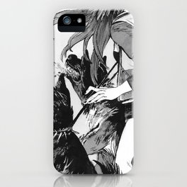 Bite Me (Shepard) iPhone Case
