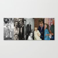 dad Canvas Prints featuring Dad by Shalisa Photography