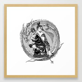 My Aim is True Framed Art Print