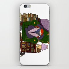 A quiet place, with a book to read iPhone & iPod Skin