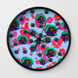 To Wong Foo Thanks for Everything Julie Newmar  - Pop Art Print - Noxeema Wall Clock