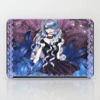 valentina iPad Cases featuring Blue Valentina by Valentina Marinaccio