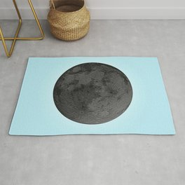 BLACK MOON + BLUE SKY Rug