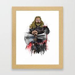 Thor Endgame Framed Art Print