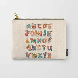 Aerialphabet (labelled) Carry-All Pouch