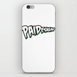 PAIDesign Logo iPhone Skin
