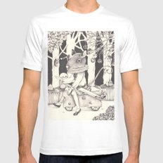 Sally Forth Mens Fitted Tee White MEDIUM