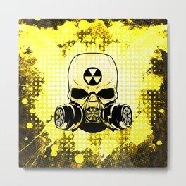 Guerrilla Nuclear Warrior Metal Print