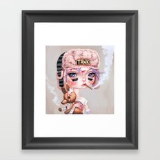 Tank Girl and Booga Framed Art Print