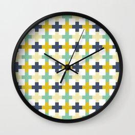 Swiss Cross Squared Wall Clock