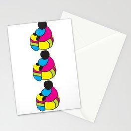 3 Drummer Men Stationery Cards