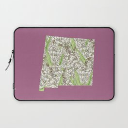 New Mexico in Flowers Laptop Sleeve