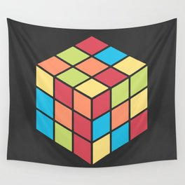 #68 Rubix Cube Wall Tapestry